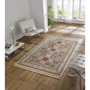 Krémový koberec z viskózy Mint Rugs Precious, 200x300cm