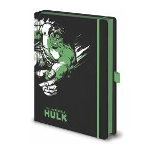 Zápisník A5 Pyramid International Marvel Hulk, 120 stran