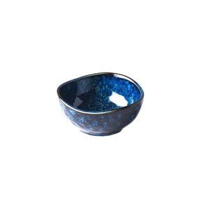 Modrá keramická mistička MIJ Indigo, ø9cm