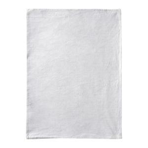 Světle šedý bavlněný běhoun na stůl Blomus, 45x140cm