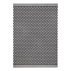 Černobílý koberec Zala LivingSpot, 140x200cm