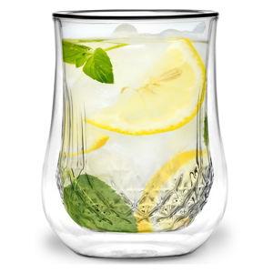 Sada 2 dvoustěnných sklenic Vialli Design Tinna, 300ml