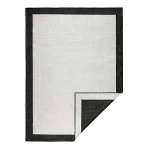 Černo-krémový venkovní koberec Bougari Panama, 160x230 cm