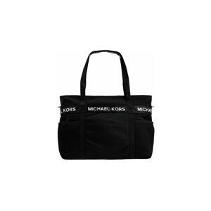 Černá látková kabelka Michael Kors The Michael