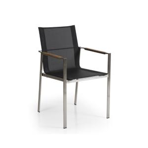 Židle z nerezové oceli GOTLAND