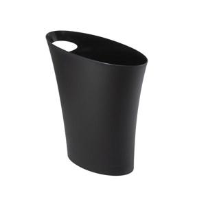 UMBRA koš na smetí SKINNY černý