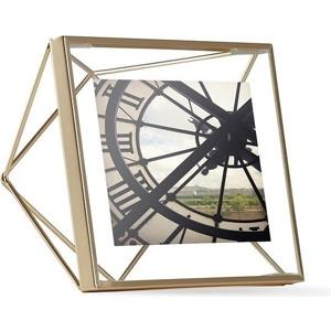 UMBRA rámeček na fotografie PRISMA 10x10 cm - zlatý
