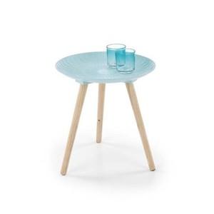 BINGO stolek světle modrý