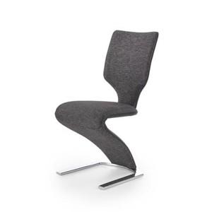 K307 židle černá / tmavě šedá