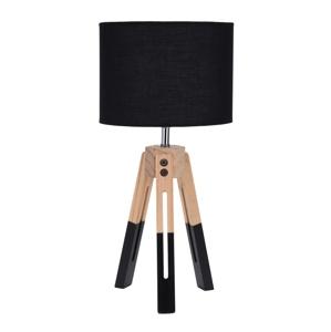 Lampička stolní Intesi Brex černá