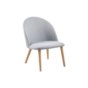 Židle Manley světle šedá