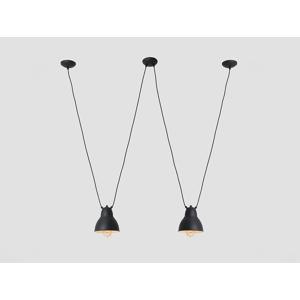 Lampa závěsná COBEN HANGMAN 2 - černá