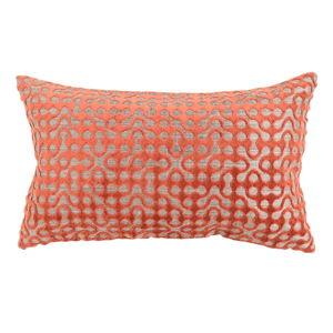 Oranžový zahradní polštář Hartman Jane, 30x45cm