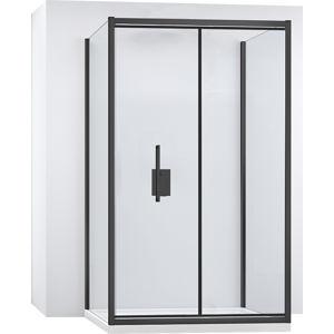 Kabina sprchová ke stěně RAPID FOLD |Varianta produktu - dveře:80 x Stěny:100