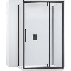 Kabina sprchová ke stěně RAPID SWING |Varianta produktu - dveře:130 x Stěny:80