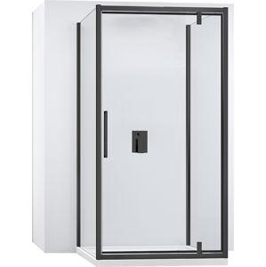 Kabina sprchová ke stěně RAPID SWING |Varianta produktu - dveře:130 x Stěny:90