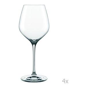 Sada 4 sklenic z křišťálového skla Nachtmann Supreme Burgundy, 840 ml