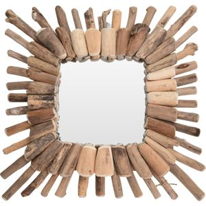 Zrcadlo  Wood Wreath