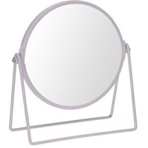 Zrcadlo stojací Blomst  bílé