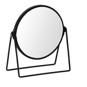 Zrcadlo stojací Blomst  černé