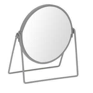 Zrcadlo stojací Blomst  šedé