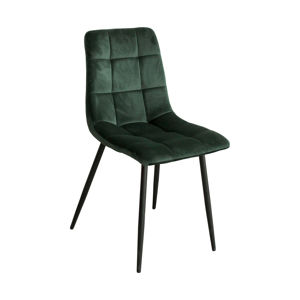 Jídelní židle BERGEN zelený samet