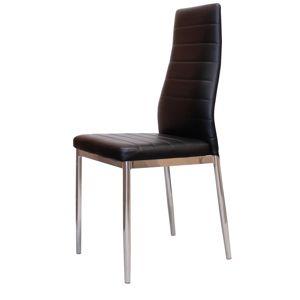 Jídelní židle MILÁNO černá