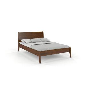 Dvoulůžková postel z borovicového dřeva v dubovém dekoru Skandica Visby Radom, 140x200cm