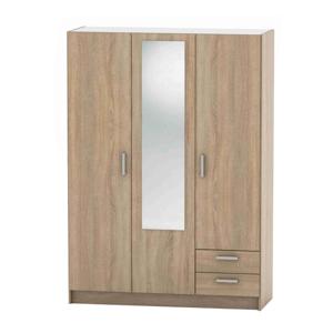 3-dveřová skříň, dub sonoma, BETTY 7 BE07-001-00