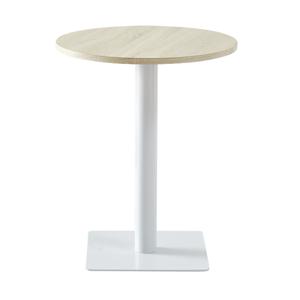 Jídelní stůl, přírodní/bílá, TABIT