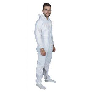 Ochranný profi celooblek VINGUARD L - bílý antiCOVID19