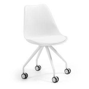 Bílá kancelářská židle La Forma Lars