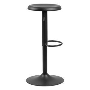 Černá barová židle Actona Finch