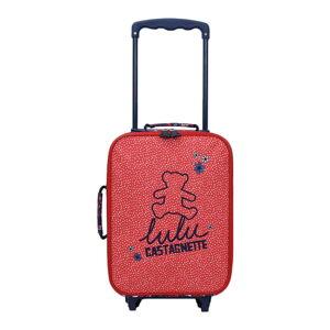 Dětské zavazadlo v odstínu magenta Lulucastagnette Berry, 8l