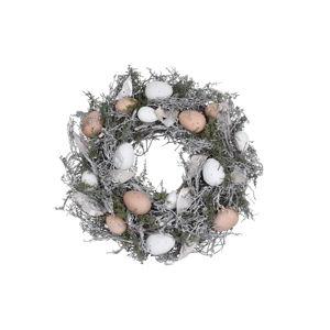 Velikonoční dekorativní věnec Ego Dekor Feathers and Moss, ⌀ 35 cm