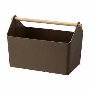 Hnědý úložný box YAMAZAKI Storage