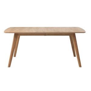 Rozkládací jídelní stůl z masivního dubu Unique Furniture Rho,150/190x90cm