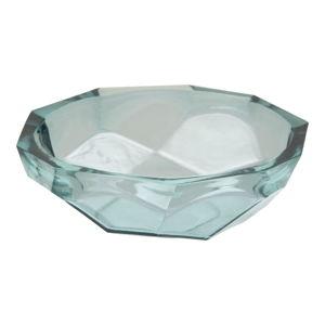 Modrá miska z recyklovaného skla Mauro Ferretti Stone, ø25cm