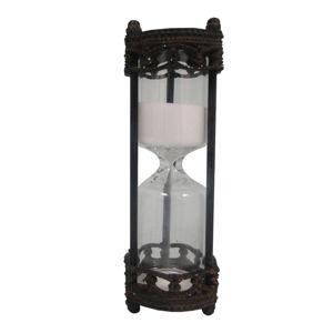 Černé přesýpací hodiny Antic Line Orfeo