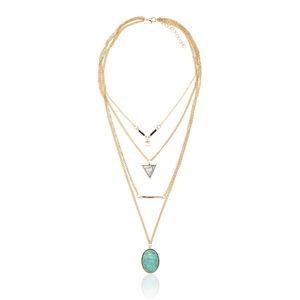 Dámský náhrdelník ve zlaté barvě NOMA Arabella