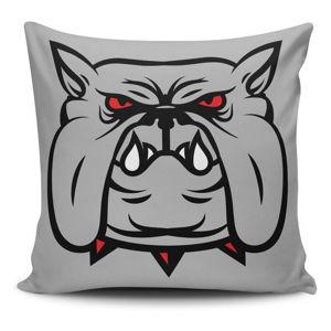 Povlak na polštář s příměsí bavlny Cushion Love Dog, 45 x 45 cm