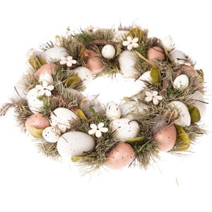 Závěsný věnec s vajíčky Dakls Luno, ⌀ 31 cm