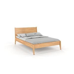 Dvoulůžková postel z bukového dřeva Skandica Visby Radom, 180x200cm