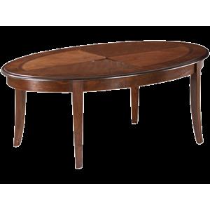 Konferenční stolek CALIFORNIA C tmavý ořech