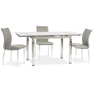 Stůl GD018 šedý 110(170)x74