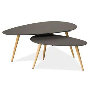 Konferenční stolek NOLAN B barva šedá