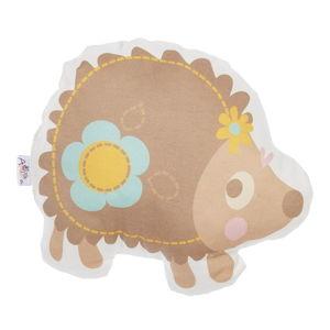 Dětský polštářek s příměsí bavlny Apolena Pillow Toy Hedgehog, 28 x 25 cm