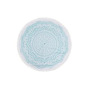 Barevná plážová osuška ze 100% bavlny Bahamas, ⌀ 150 cm