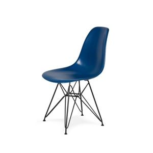 Židle 130-cas1 inkoustová #27 abs + nohy kovové černá