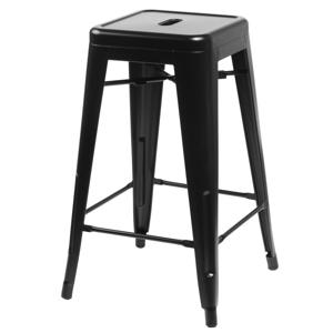 Barová židle PARIS 75cm černá insp. TOLIX